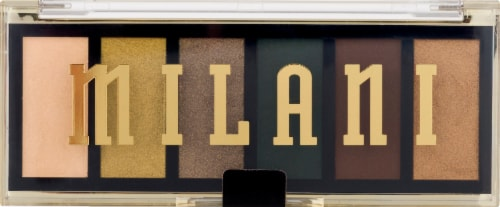 Milani Most Wanted Outlaw Olive Eyeshadow Palette Perspective: front