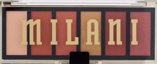 Milani Most Wanted Burning Desire Eyeshadow Palette Perspective: front
