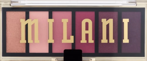 Milani Most Wanted Rosy Revenge Eyeshadow Palette Perspective: front