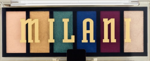 Milani Most Wanted Jewel Heist Eyeshadow Palette Perspective: front