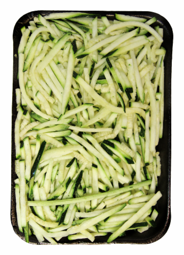 Zucchini Squash Noodles Perspective: front
