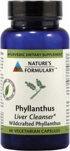 Nature's Formulary  Phyllanthus Perspective: front
