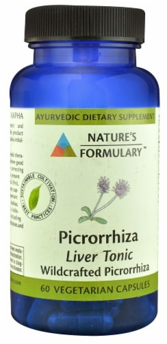 Nature's Formulary  Picrorrhiza Perspective: front