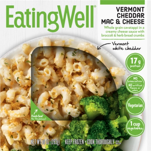 EatingWell Vermont Cheddar Mac & Cheese Perspective: front