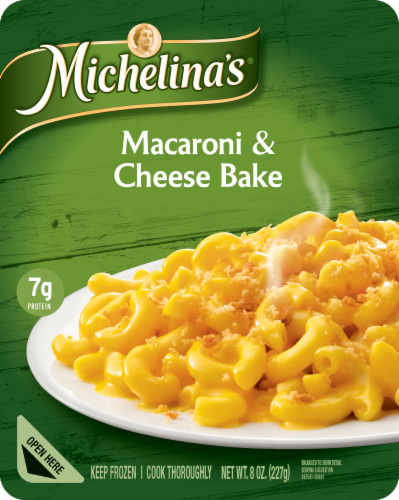 Michelina's Macaroni & Cheese Bake Perspective: front