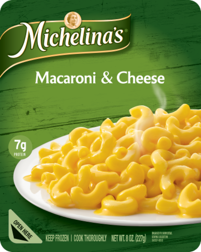Michelina's Macaroni & Cheese Perspective: front
