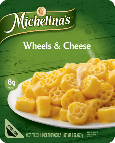 Michelina's Wheels & Cheese Perspective: front