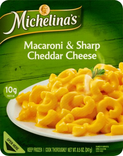 Michelina's Macaroni & Sharp Cheddar Cheese Perspective: front