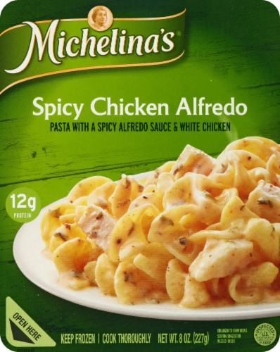 Michelina's Spicy Chicken Alfredo Perspective: front