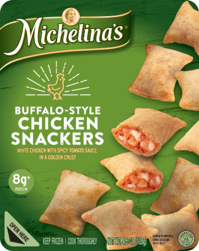 Michelina's Lean Gourmet Buffalo-Style Chicken Snackers Perspective: front
