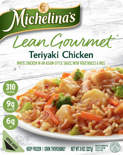 Michelina's Lean Gourmet Teriyaki Chicken Perspective: front