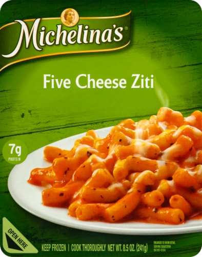 Michelina's Five Cheese Ziti Perspective: front