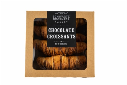 Schwartz Brothers Bakery Chocolate Croissants Perspective: front