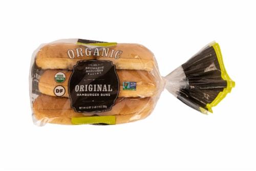 Schwartz Brothers Organic Original Hamburger Buns Perspective: front
