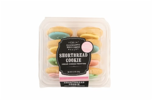 Schwartz Brothers Bakery Frosted Shortbread Cookies Perspective: front