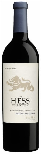 Hess Collection Cabernet Sauvignon Perspective: front