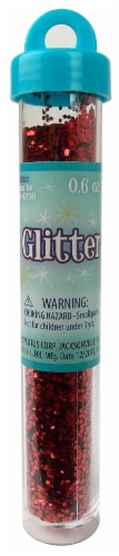 Sulyn Glitter Tube - Red Perspective: front