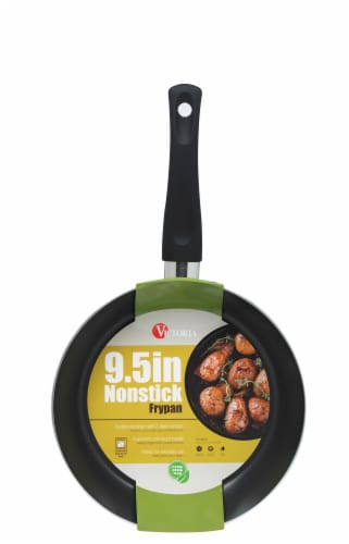 Victoria Soft Touch Handle Nonstick Fry Pan Perspective: front