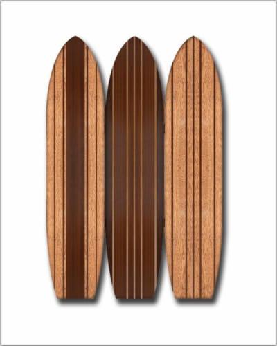 Screen Gems Long Board Surfboard Screen SG-376 Perspective: front