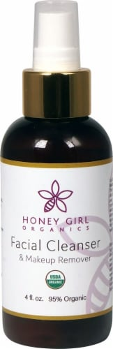 Honey Girl Organics  Facial Cleanser & Makeup Remover Perspective: front