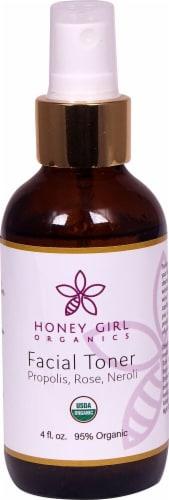 Honey Girl Organics  Facial Toner Propolis Rose and Neroli Perspective: front