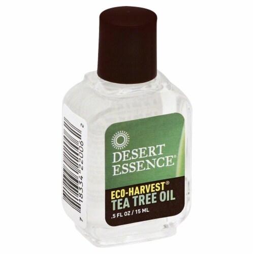 Desert Essence Organics Eco-Harvest Tea Tree Oil Perspective: front