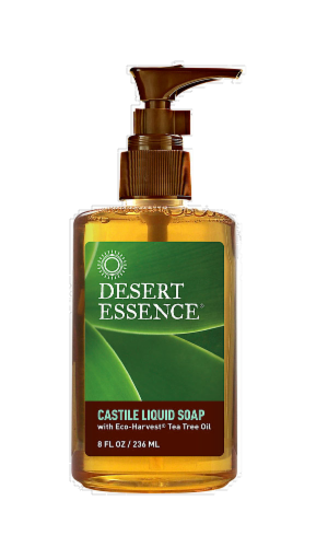 Desert Essence Castile Liquid Soap Perspective: front