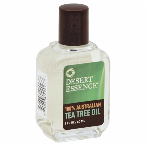 Desert Essence Tea Tree Oil Perspective: front