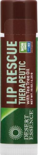 Desert Essence Organics Lip Rescue Therapeutic Perspective: front