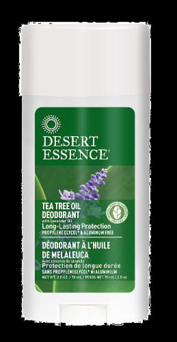 Desert Essence Organics Tea Tree Oil Deodorant Perspective: front