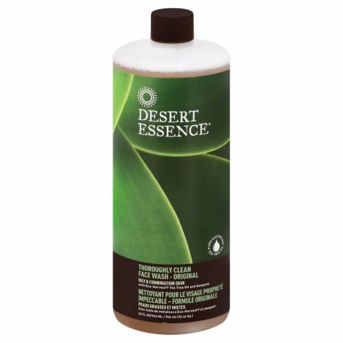 Desert Essence Clean Face Wash Perspective: front
