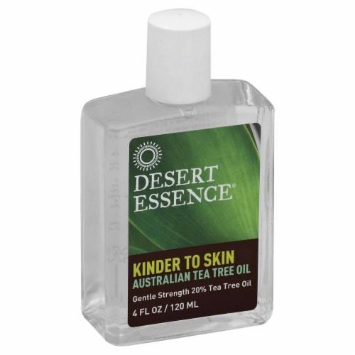 Desert Essence Kinder to Skin Australian Tea Tree Oil Perspective: front