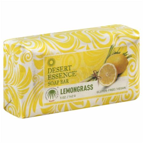 Desert Essence Lemongrass Soap Perspective: front