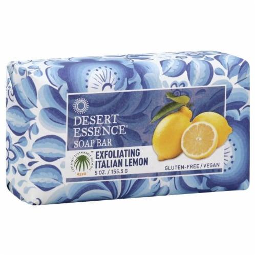 Desert Essence Soap Bar Exfoliating Italian Memon Perspective: front