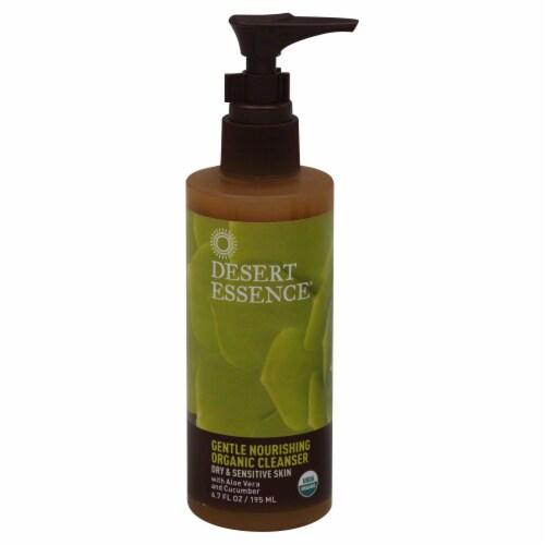 Desert Essence Gentle Nourishing Organic Cleanser Perspective: front