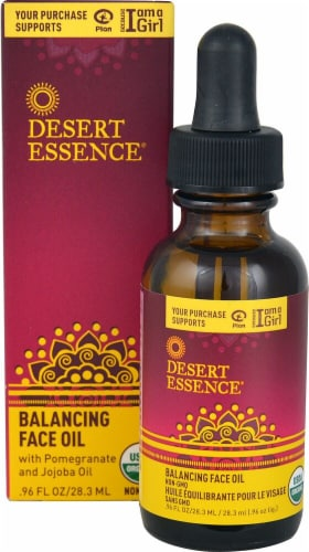 Desert Essence  Balancing Face Oil Perspective: front