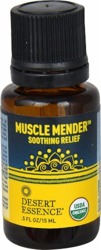 Desert Essence  Muscle Mender™ Organic Essential Oil Perspective: front