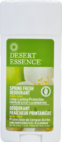 Desert Essence Spring Fresh Deodorant Perspective: front