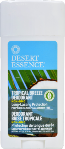 Desert Essence Tropical Breeze Deodorant Perspective: front