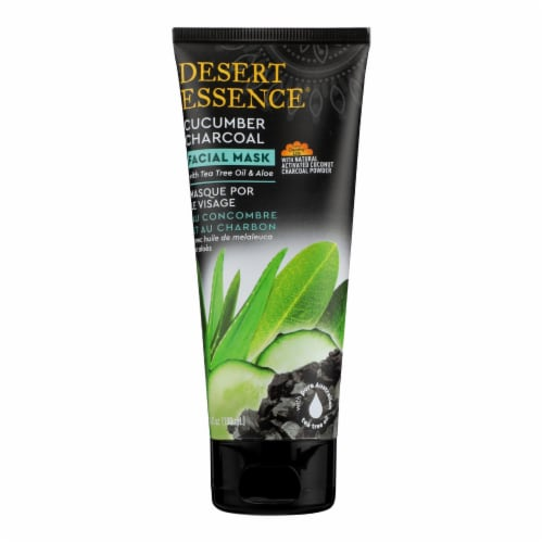 Desert Essence - Facial Mask Cucumber Charcoal - 1 Each - 3.4 FZ Perspective: front