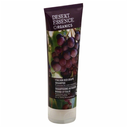 Desert Essence Italian Red Grape Shampoo Perspective: front