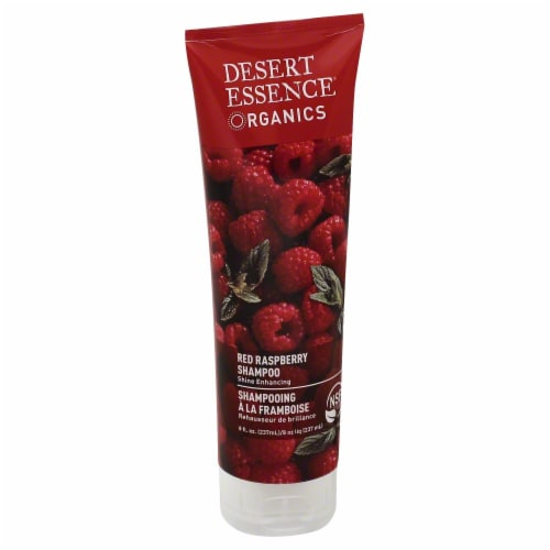 Desert Essence Red Raspberry Shampoo Perspective: front