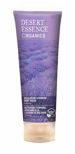 Desert Essence  Calming Body Wash Bulgarian Lavender Perspective: front