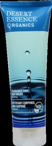 Desert Essence Organics Fragrance Free Body Wash Perspective: front