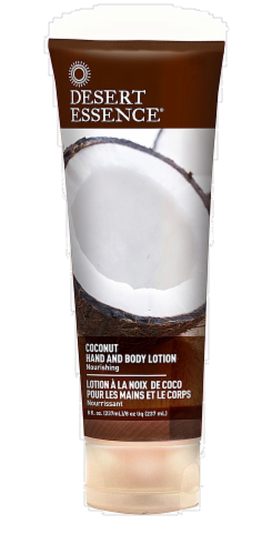 Desert Essence Coconut Hand And Body Lotion Perspective: front