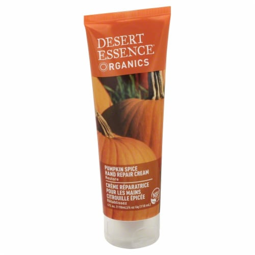 Desert Essence Organics Pumpkin Hand Repair Cream Perspective: front