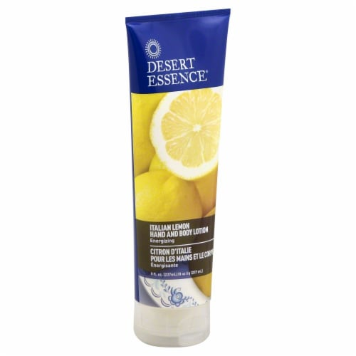 Desert Essence Italian Lemon Hand And Body Lotion Perspective: front