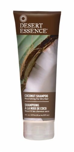Desert Essence Coconut Shampoo Perspective: front