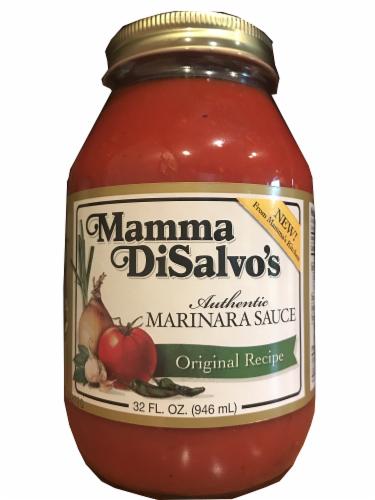Mamma DiSalvo's Authentic Original Recipe Marinara Sauce Perspective: front