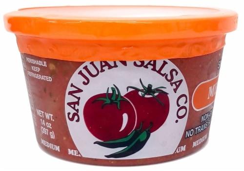 San Juan Medium Salsa Perspective: front